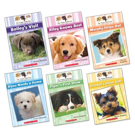 The Puppy Collection Pack x 6