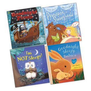 Bedtime Picture Books Pack x 4