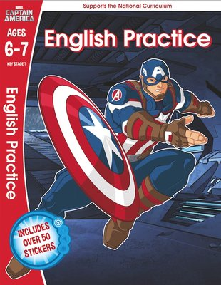Captain America English Practice (Ages 6-7)