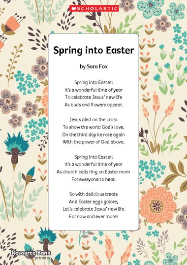 Spring Into Easter Primary Ks1 Ks2 Teaching Resource Scholastic