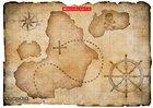 Blank treasure map