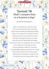 Sonnet 18 – Shall I compare thee