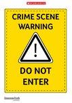 Crime-Scene Poster (1 page)