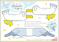 The Best Chip Make a Seagull Activity Sheet