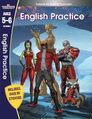 Guardians of the Galaxy - English Practice (Ages 5-6)
