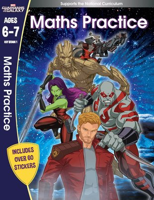 Guardians of the Galaxy - Maths Practice (Ages 6-7)