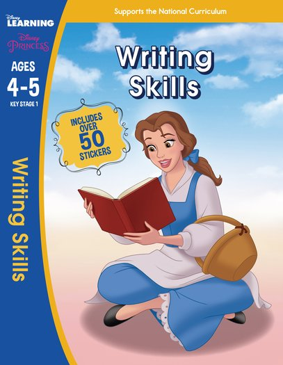 Princess: Writing Skills (Ages 4-5)