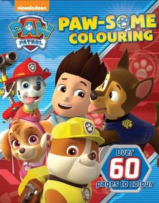 Paw Patrol: Paw-Some Colouring