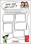 The Adventures of Long Arm - Draw your own loft (1 page)
