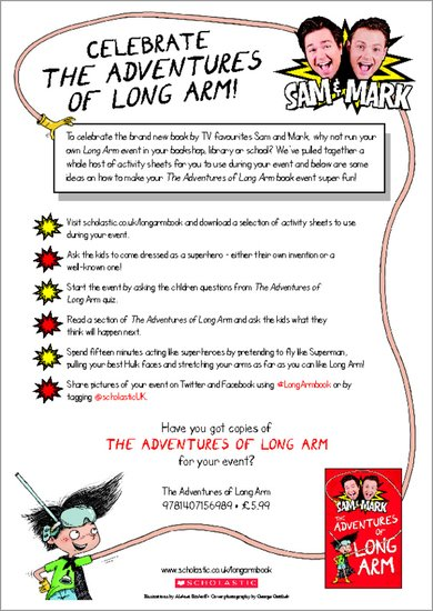 Celebrate The Adventures of Long Arm