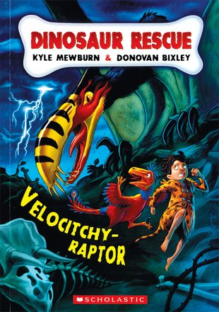 Dinosaur Rescue: Velocitchy-Raptor