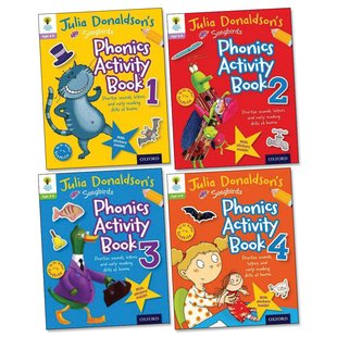 Julia Donaldson's Songbirds: Phonics Activity Pack x 4