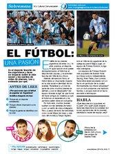 El fútbol: una pasión