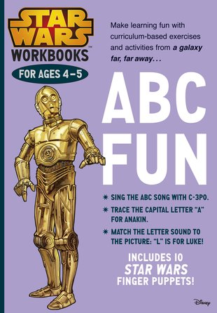 Star Wars Workbooks: ABC Fun (Ages 4-5)