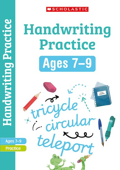 Scholastic English Skills: Handwriting Workbook (Years 3-4) x 6