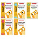 Scholastic English Skills: Grammar and Punctuation Workbooks Years 1-6 Set (5 Books)
