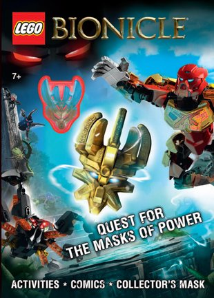 LEGO® Bionicle®: Quest for the Masks of Power Activity Book