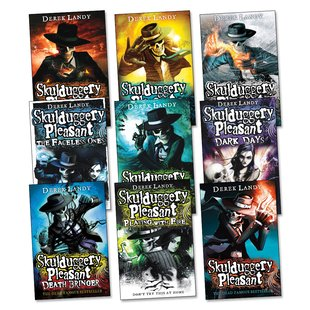 Skulduggery Pleasant Pack x 9
