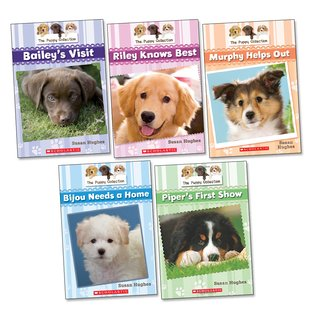 The Puppy Collection Pack x 5