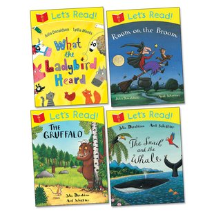 Let's Read! Julia Donaldson Pack x 4