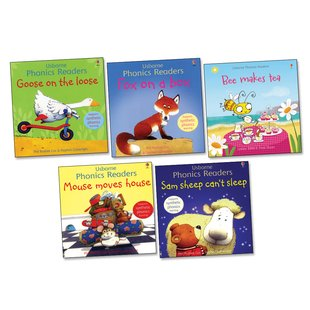 Usborne Phonics Readers Pack x 5