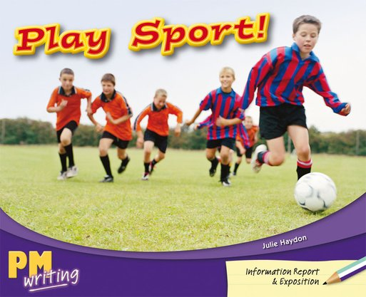 PM Writing 2: Play Sport! (PM Turquoise/Purple) Levels 18, 19 x 6