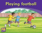 Playing Football (PM Magenta/Red) Levels 2, 3