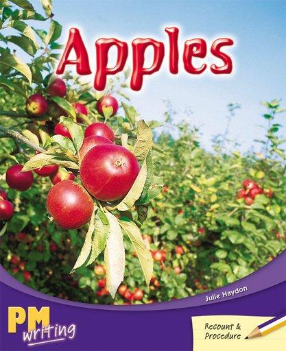 PM Writing 3: Apples (PM Purple/Gold) Levels 20, 21