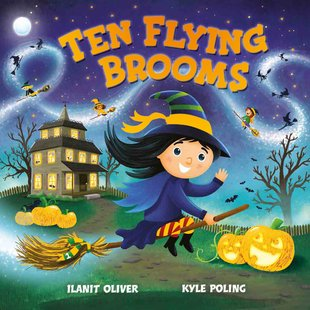 Ten Flying Brooms