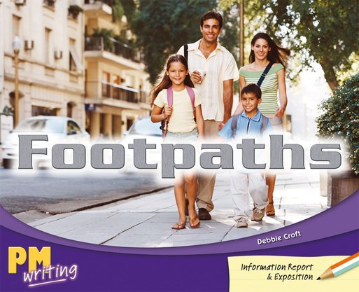 Footpaths (PM Orange/Turquoise) Levels 16, 17