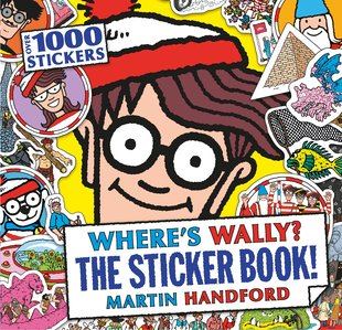 Where's Wally? The Sticker Book!