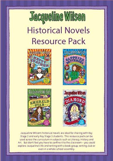 Jacqueline Wilson Hetty Feather historical novels teacher resource pack