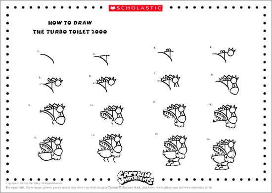 Captain Underpants Puzzle Activity