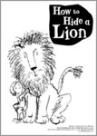 How to Hide a Lion Colouring Activity Sheet (1 page)