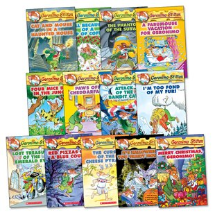 Geronimo Stilton Pack x 13