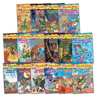 Geronimo Stilton Pack x 16