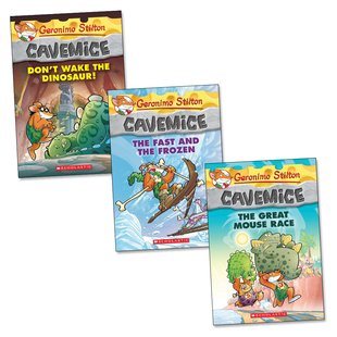 Geronimo Stilton Cavemice Trio