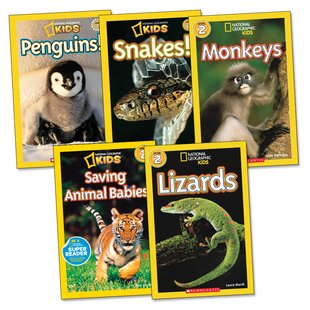 National Geographic Kids Readers Pack: Level 2