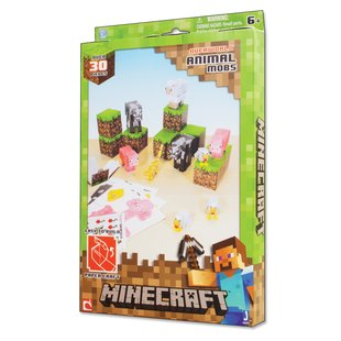 Minecraft Paper Craft: Overworld Animal Mobs