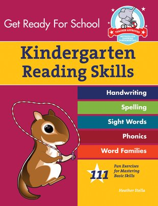 Get Ready for School: Kindergarten Reading Skills Workbook
