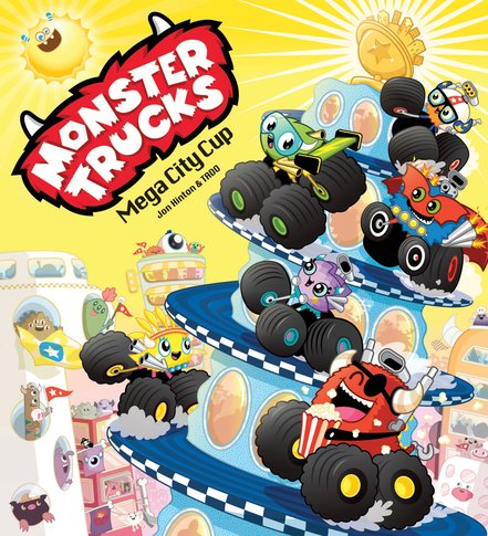 Monster Trucks: Mega City Cup