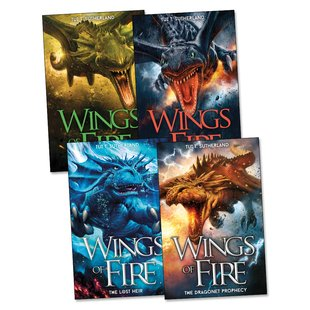 Wings of Fire Pack x 4