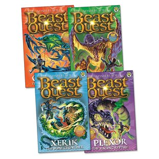 Beast Quest Pack: Series 15 x 4