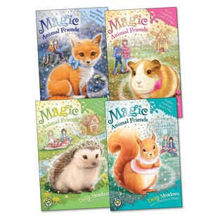 Magic Animal Friends Pack x 4