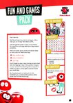 Red Nose Day games pack (15 pages)