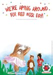 Red Nose Day nursery event poster (1 page)