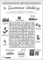 Scarecrow wedding wordsearch act puz 1325313