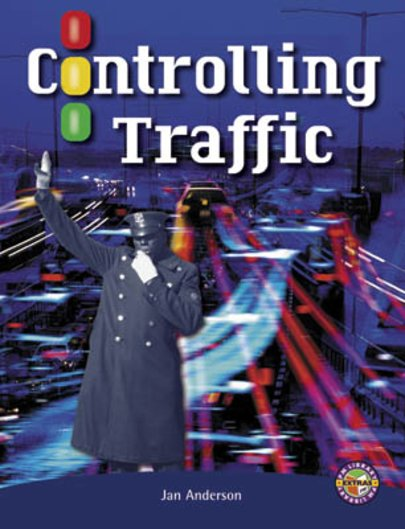 PM Sapphire: Controlling Traffic (PM Extras Non-fiction) Level 29/30 (6 books)