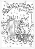 Abracazebra - Colouring Activity