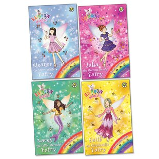 Rainbow Magic: Fairytale Fairies Pack x 4
